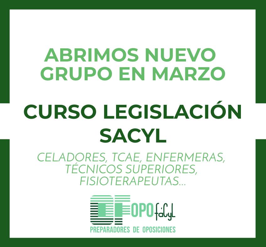opofacyl-legislacion-sacyl
